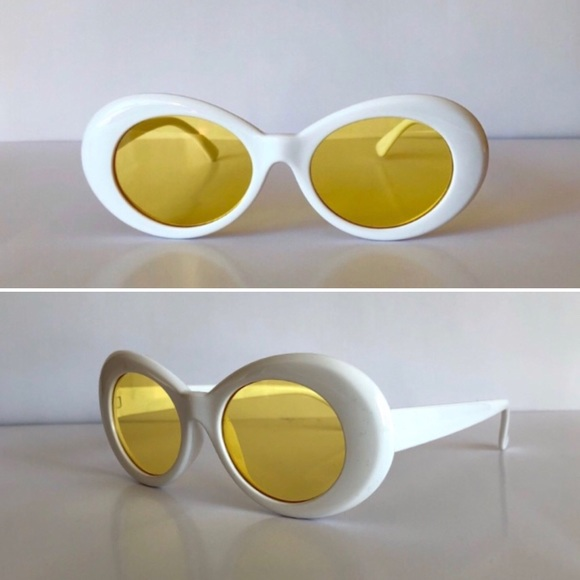d6c72f6ebb White Clout Goggles with Yellow Lenses